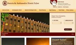 Screenshot of Budget hotel in Dubai