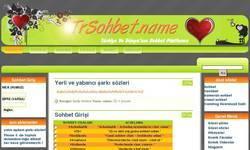 Screenshot of sohbet