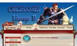Screenshot of Obligames