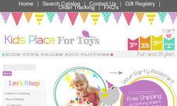 Screenshot of Kids Place For Toys