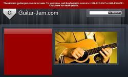 Screenshot of Guitar Jam