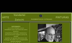 Screenshot of Zalochi Gallery