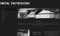 Screenshot of MetalTactics.com