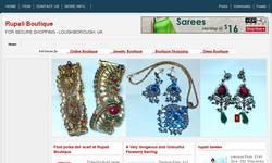 Screenshot of Rupali Boutique