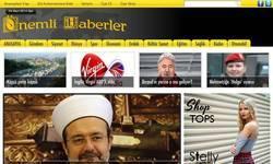 Screenshot of �nemli Haberler.com