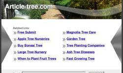 Screenshot of Article-Tree