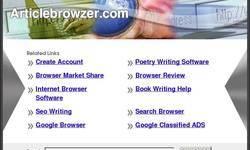 Screenshot of Article Browzer