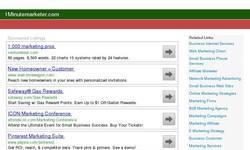Screenshot of micro niche finder