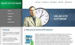 Screenshot of Online DTR Software