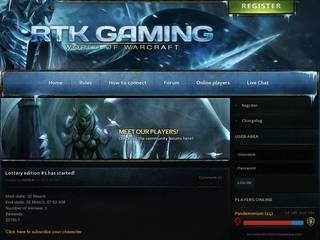 Screenshot of RTKGAMING 3.3.5