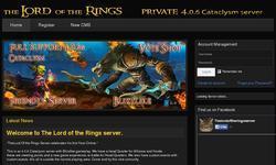 Screenshot of thelordoftherings