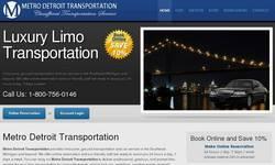 Screenshot of Detroit Metro Car Service