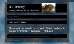 Screenshot of CKS Rabbitry