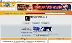 Screenshot of Naruto Ultimate 2