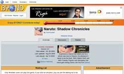 Screenshot of Naruto Shadow Chronicles