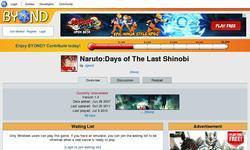 Screenshot of Naruto Days of The Last Shinobi