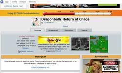 Screenshot of DBGT return of chaos