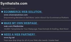 Screenshot of Zack's Website