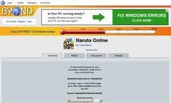 Screenshot of Naruto Online