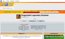 Screenshot of Dragonball Legendary Budokai