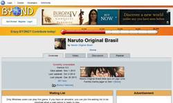 Screenshot of Naruto Original Brasil