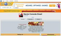 Screenshot of Naruto Conex�o Brasil