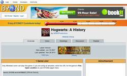Screenshot of Hogwarts: A History