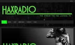 Screenshot of haXradio