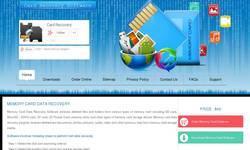 Screenshot of free memory card recovery