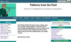 Screenshot of Patterns from the Past