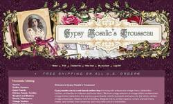 Screenshot of Gypsy Rosalie's Trousseau