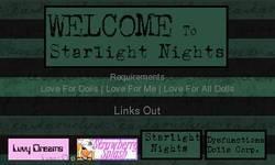 Screenshot of Starlight Nights