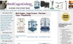 Screenshot of Bird Cages Galore