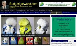 Screenshot of Budgerigar World Magazine
