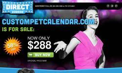 Screenshot of Custom Bird calendars