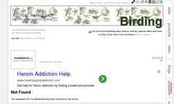 Screenshot of Birding Toplisted