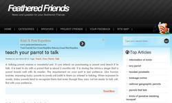 Screenshot of www.feathered-friends.co.uk