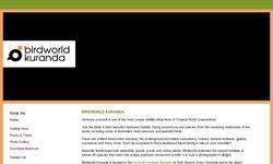 Screenshot of birdworld kuranda