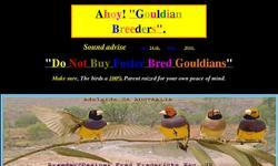 Screenshot of Ahoy Gouldian Breeders