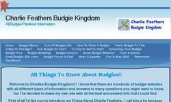 Screenshot of Charlie Feathers Budgie Kingdom