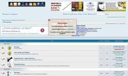 Screenshot of Spanish Web silvestrista