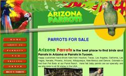 Screenshot of ArizonaParrots.com