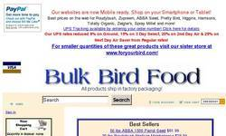 Screenshot of Bulk Bird Food