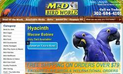 Screenshot of M and D Bird Farm