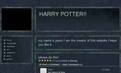 Screenshot of harrypoter66.webs.com