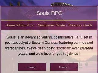 Screenshot of 'Souls RPG