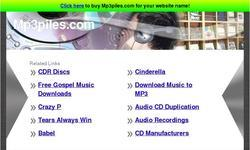 Screenshot of Mp3 Downloads