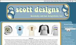 Screenshot of Scott Designs