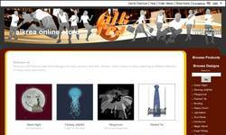 Screenshot of Alcreations online store