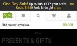 Screenshot of S&S Shop